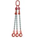 Elingue chaîne réglable avec crochets à verrouillage automatique
