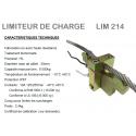 Limiteur mécanique de charge LM214