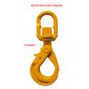 Crochets émerillon à verrouillage automatique Compact EXCEL Rotation sous charge