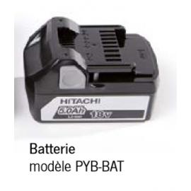Batterie pour pompe hydrauliquePYB