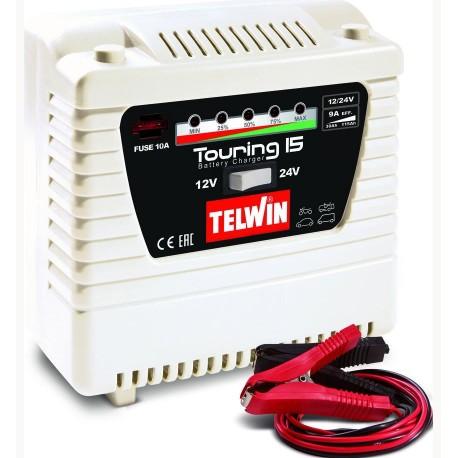 Chargeur de batterie 12-24V TELWIN