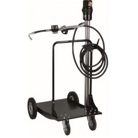 Ensemble pneumatique huile 20-60 kg avec chariot