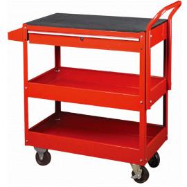 Servante d'atelier charge maxi 50 kg par plateau avec 1 tiroir