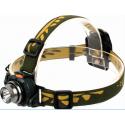 Torche frontal sensitive 1 LED à piles