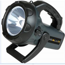 Torche longue portée rechargeable 1 LED-800 Lumens