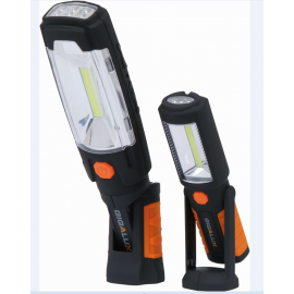 2 baladeuses LED rechargeables en blister 280 lumens