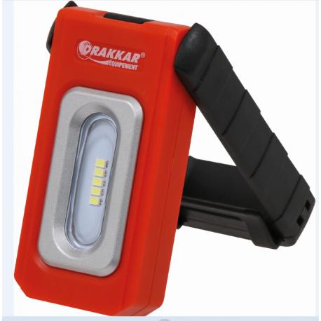 Lampe de poche rechargeable 5 LED-220 Lumens