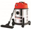 Aspirateur eaux et poussières cuve INOX capacité 20 litres