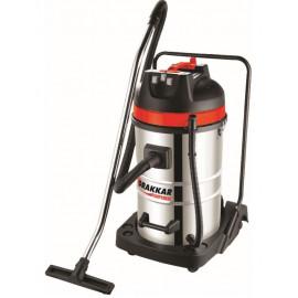Aspirateur eaux et poussières cuve INOX capacité 80 litres
