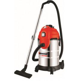 Aspirateur eaux et poussières cuve INOX capacité 30 litres