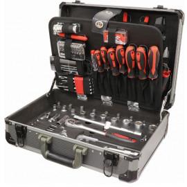 """Malette de dépannage 1/2"""" et 1/4"""" 119 outils"""