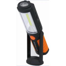 Baladeuse pivotante rechargeable 1 + 5 LED 180 LUMENS