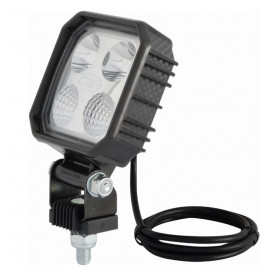 Phare de travail 4 LED en carbone