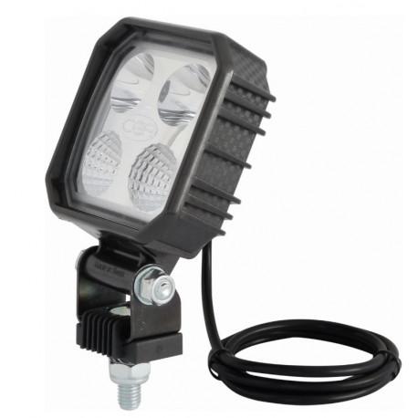 Phare de travail 4 LED en carbone