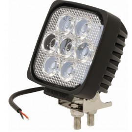 Phare de travail carré LED 2200 lumens