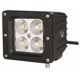 Mini-phare de travail carré LED