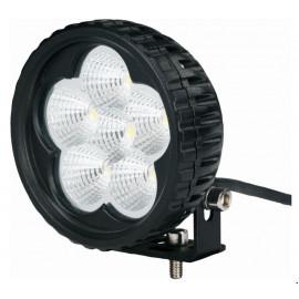 Mini phare de travail rond 6 LED 18W