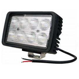 Phare de travail 8 LED 40W