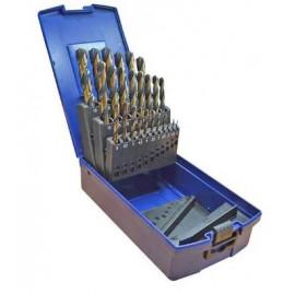 """Coffret de 19 forets """"GBX"""" de 1 à 10 par 0.5 mm"""