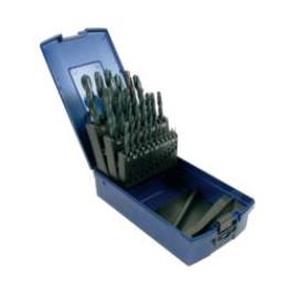 Coffret de 25 forets  HSS de 1 à 13 par 0.5 mm