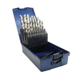 Coffret de 25 forets de 1 à 13 par 0.5 mm Spécial INOX