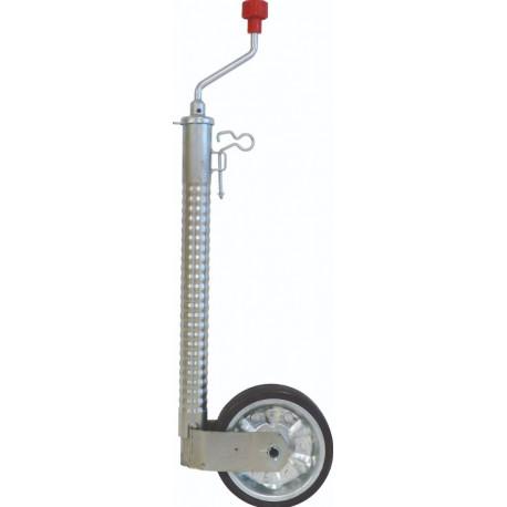 Roue Jockey anti décrochage charge maxi 300 kg
