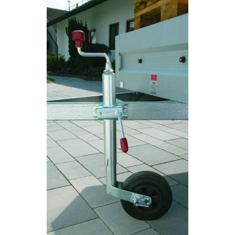 Roue Jockey avec PINSTOP charge maxi 150 kg