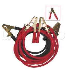Câbles de démarrage poids lourds avec pinces LAITON modèle professionnel