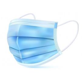 Masque de protection jetable, boite de 50 pièces