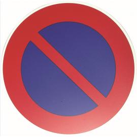 """Panneau """" stationnement interdit"""""""