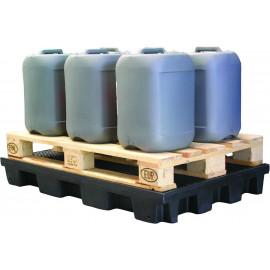 Plateforme de rétention en polyéthylène recyclé à 100% 120L