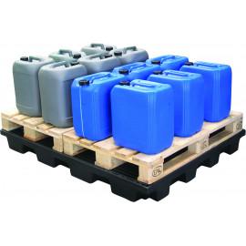 Plateforme de rétention en polyéthylène recyclé à 100% 240L