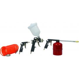 kit accessoires pneumatiques 4 pièces