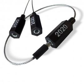 """Cable de marquage """"CLIP EASY"""" 2020 NOIR 2021 VERT"""