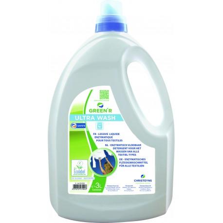 Lessive liquide green r - ultra wash