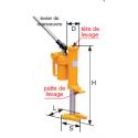 Cric hydraulique