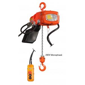 Palans électriques 220 Volts monophasé