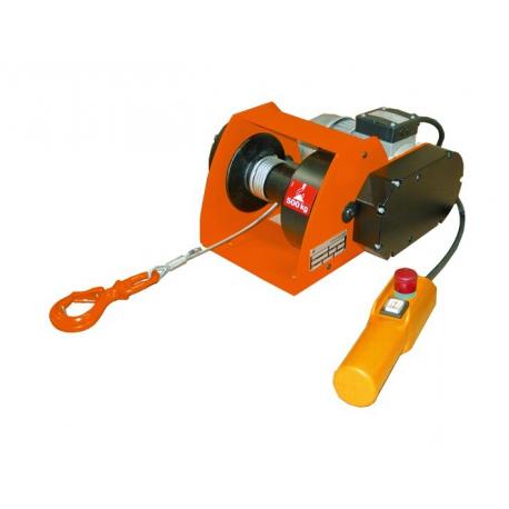 Treuil électrique de traction et de halage