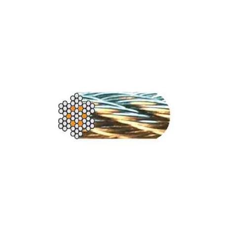 Câble acier ANTIGIRATOIRE
